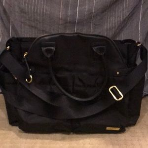 Skip Hop Diaper bag BLACK and Gold